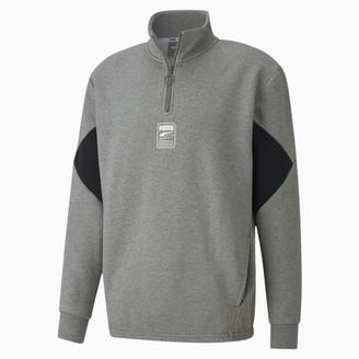 Puma Rebel Men's Half Zip Sweatshirt