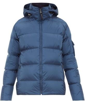 Bogner Hooded Quilted Down Jacket - Mens - Blue