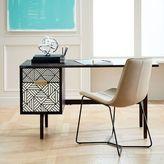 west elm Bone Inlaid Desk