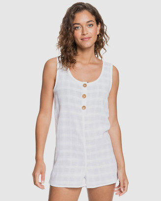 Roxy Womens Made With Love Playsuit Beach Cover Up