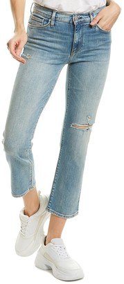 Hudson Nico Mid-Rise Recover Straight Leg Crop Jean
