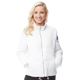 UGG Womens Izzie Puffer Jacket Nylon White
