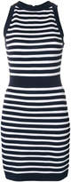 Balmain slim striped dress