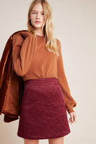 Maeve Beatrice Quilted Mini Skirt