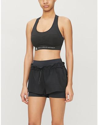 adidas by Stella McCartney Performance Essentials stretch-recycled polyester sports bra