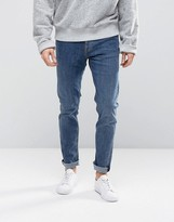 Weekday Friday Skinny Jeans Average Blue