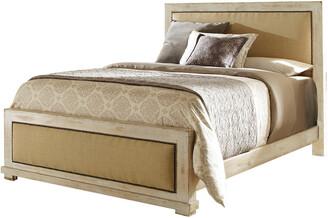 Progressive Furniture Queen Upholstered Complete Bed