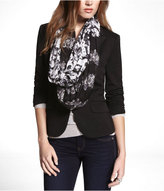 Express Double Floral Print Infinity Scarf