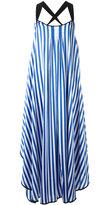 By Malene Birger striped dress - women - Silk/Polyester - 36