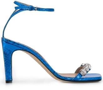 Sergio Rossi SR1 open-toe sandals