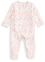 Aden Anais Infant Girl's Aden + Anais Print Wrap Romper