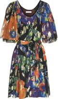 Tropical lurex dress