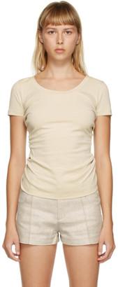 Jacquemus Beige Le T-Shirt Sprezza T-Shirt