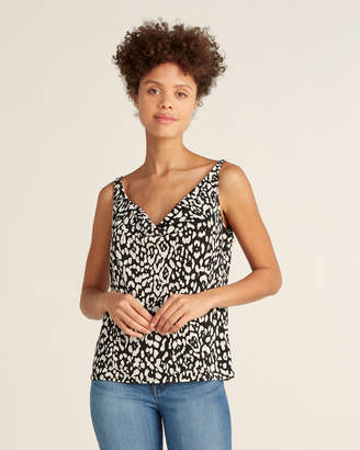 Bailey 44 Gimme Some Skin Leopard Print Tank Top