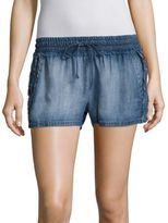 Bella Dahl Fray Side Chambray Shorts