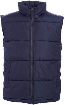 U.S. Polo Assn. Men's Outerwear Vests CLASSIC - Navy Signature Puffer Vest - Men