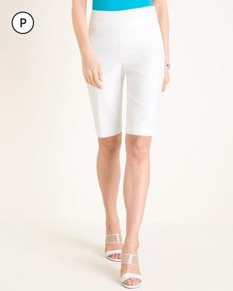 So Slimming Petite Brigitte Slim Shorts- 10.5 Inch Inseam