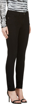 Frame Denim Black Skinny Jeans