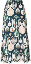 Temperley London Love Potion midi skirt