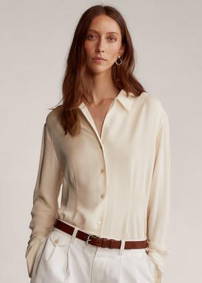 Ralph Lauren Gabriela Silk Georgette Shirt