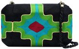Natori Beatriz Clutch Green