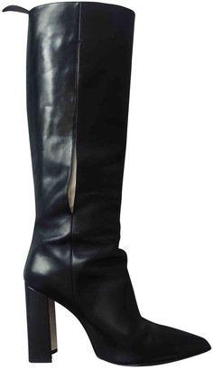 Louis Vuitton PokerFace Black Leather Boots