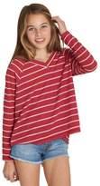 Billabong Girl's Ocean Tides Waffle Knit Tee