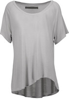 Enza Costa Draped Jersey T-Shirt