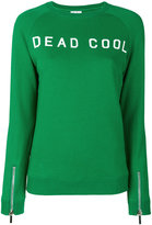 Zoe Karssen slogan embroidered sweater - women - Cotton - M