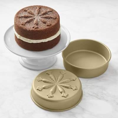 Nordicware Carrot Layer Cake Pan, Set of 2