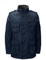 Lands' End Men's Military Jacket-Dark Gray