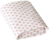 DwellStudio Floral Dot Pale Rose Fitted Crib Sheet