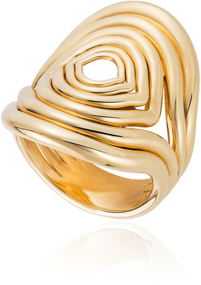 Fernando Jorge Rounded Lines 18K Yellow Gold Ring