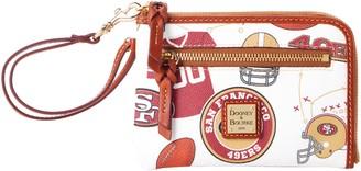 Dooney & Bourke NFL 49ers Multi Function Zip Around