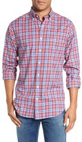 Vineyard Vines Men's 'Gilberts Pond' Slim Fit Plaid Sport Shirt