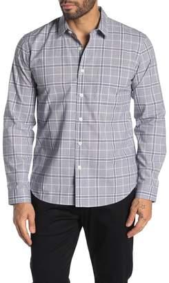 Theory Rammy Hill Plaid Long Sleeve Regular Fit Shirt