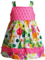 Youngland Baby Girl Lace Floral Sundress