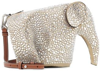 Loewe Elephant embellished leather bag