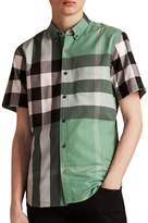 Burberry Men's Fred Check Shirt
