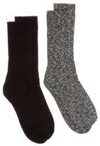 Calvin Klein New Mens Multi Jack 2 Pack Cotton/Polyamide Socks Casual