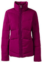 Lands' End Women's Down Jacket-Muted Graphite