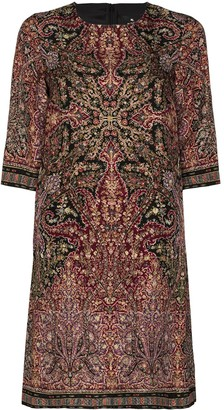 Etro Paisley-Print Shift Dress