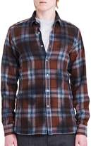 Lanvin Men's Fitted Casual Button-Down Shirt