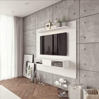 Langley StreetTM Norloti Entertainment Center for TVs up to 70 inches Langley StreetTM Color: Distressed Brown