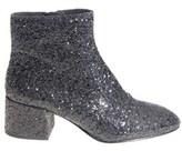 Ash Women's Black Glitter Ankle Boots.