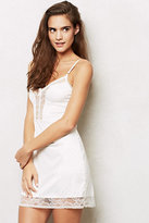 Anthropologie Dotted Jacquard Chemise