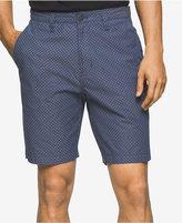"Calvin Klein Jeans Men's Geo Chambray Cotton 9"" Shorts"