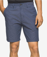 Calvin Klein Jeans Men's Geo Chambray Cotton Shorts
