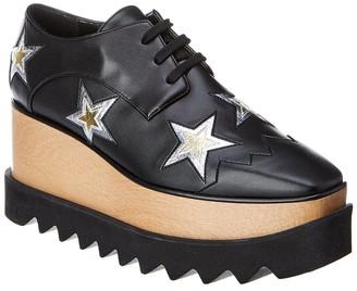 Stella McCartney Elyse Star Cut-Out Platform Oxford