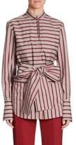 Striped Tie Top